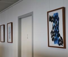 Bilder im Großraumbüro Hewlett Packard, Wien 16