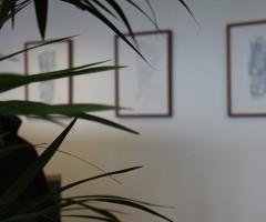 Bilder im Großraumbüro Hewlett Packard, Wien 15