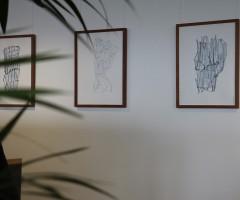 Bilder im Großraumbüro Hewlett Packard, Wien 14