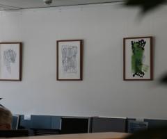 Bilder im Großraumbüro Hewlett Packard, Wien 9
