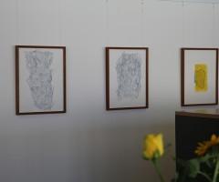 Bilder im Großraumbüro Hewlett Packard, Wien 6