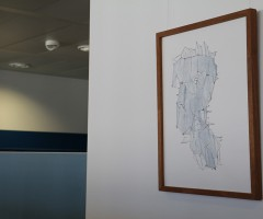 Bilder im Großraumbüro Hewlett Packard, Wien 3