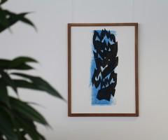 Bilder im Großraumbüro Hewlett Packard, Wien 2