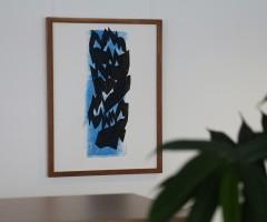 Bilder im Großraumbüro Hewlett Packard, Wien 1
