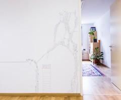 Wandbild Kinderschutzzentrum Wien 9