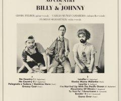 Albumcover Billy & Johnny, No Country 11